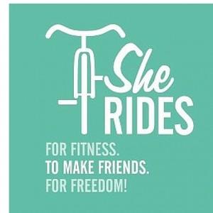 She Rides logo image at 430 x 430